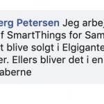 SmartThings kommer til Danmark